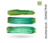 brush stroke and texture.... | Shutterstock .eps vector #334067945