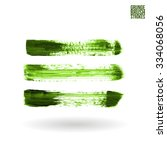 brush stroke and texture.... | Shutterstock .eps vector #334068056