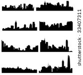 asian cities series... | Shutterstock .eps vector #33407311