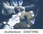 Business People Handshake...