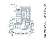 real estate market concept flat ...   Shutterstock .eps vector #334114922