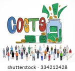 costs capital budget investment ... | Shutterstock . vector #334212428