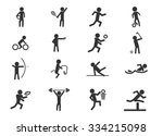 sports symbol for web icons | Shutterstock .eps vector #334215098