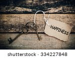 the concept of 'happiness' is... | Shutterstock . vector #334227848