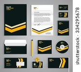 corporate identity branding... | Shutterstock .eps vector #334295678