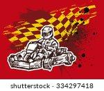 karting background | Shutterstock .eps vector #334297418