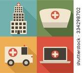 medical icon set | Shutterstock .eps vector #334298702