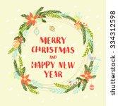 vector illustration festive...   Shutterstock .eps vector #334312598