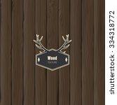 wood texture  vector eps10... | Shutterstock .eps vector #334318772