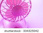 photo of the pink fan | Shutterstock . vector #334325042