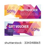 vector set of colorful gift... | Shutterstock .eps vector #334348865