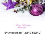 Christmas Background With A...