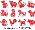 Chinese Paper Cut Zodiac