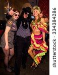 new york  ny   october 31 ... | Shutterstock . vector #334384286