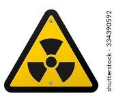 nuclear radiation symbol  ... | Shutterstock .eps vector #334390592