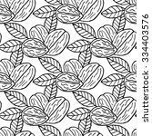 elegant seamless pattern with... | Shutterstock .eps vector #334403576