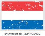 netherlands flag | Shutterstock .eps vector #334406432