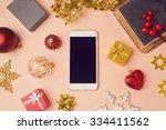 Smartphone With Christmas...