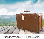 suitcase. | Shutterstock . vector #334486646