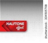 halftone effect.  | Shutterstock .eps vector #334505708
