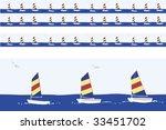 sailboats  motif  including ...   Shutterstock .eps vector #33451702