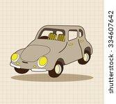 transportation car theme... | Shutterstock .eps vector #334607642