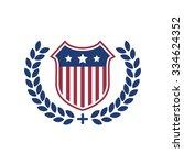 shield logo vector template | Shutterstock .eps vector #334624352