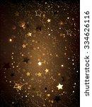 dark brown textured background... | Shutterstock .eps vector #334626116
