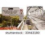 Old Bridge Morpeth Nsw Australia