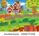 cartoon scene   background  ... | Shutterstock . vector #334677146