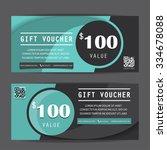 black friday gift voucher... | Shutterstock .eps vector #334678088