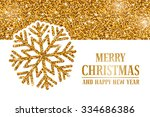 luxury christmas and new year... | Shutterstock .eps vector #334686386