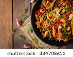 Stir Fry Chicken  Sweet Pepper...