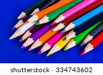 Colorful Pencils Isolated On A...