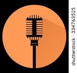 vintage black silhouette retro...   Shutterstock .eps vector #334763525