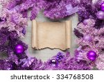 Magenta Christmas Wreath With...