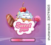 candy world game background...