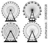 vector illustrations set.... | Shutterstock .eps vector #334802018