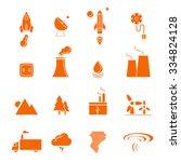 renewable energy  green  eco ... | Shutterstock .eps vector #334824128