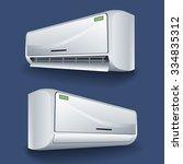 split conditioner system... | Shutterstock .eps vector #334835312