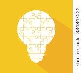 bulb big ideas icon design ...   Shutterstock .eps vector #334847522