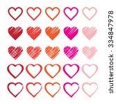 Rainbow Heart Shape Love Vecto...