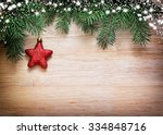 Christmas Wooden Background....