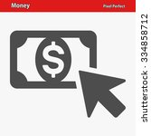 money icon. professional  pixel ... | Shutterstock .eps vector #334858712