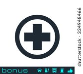 medical cross icon | Shutterstock . vector #334948466
