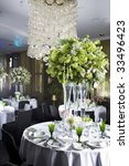 bouquet of white  flower in... | Shutterstock . vector #33496423