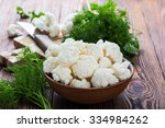 Fresh Organic Cauliflower Cut...