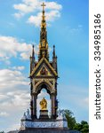 Small photo of Prince Albert Memorial, Gothic Memorial to Prince Albert. London.