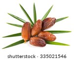 Close Up Of Dried Dates On A...