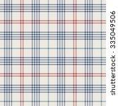 seamless tile pattern  plaid | Shutterstock .eps vector #335049506